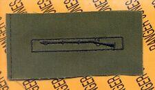 US Army EIB Expert Infantrymans Badge OD Green & Black cloth patch