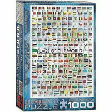 Eurographics Flags of The World 1000pc Puzzle Eur60128
