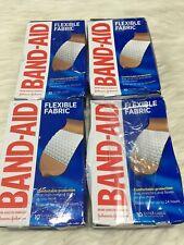 4 Band-Aid Flexible Fabric 10 Extra Large Size TDW9