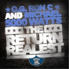 "O.G. Ron C./DJ Michael ""5000"" Watts - The Return of the Realest - CD"