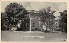 Post Office in Ridgway PA Postcard