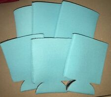 Any Color Beverage Insulators Can Coolers lot of 6 blank drink sleeves Free ship