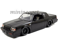 JADA 97178 FAST & FURIOUS DOM'S BUICK GRAND NATIONAL 1/18 DIECAST CAR BLACK