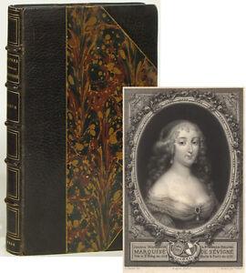 Lettres de Madame de Sevigne Album illustrations facsimile letters 1866 Hachette