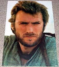 CLINT EASTWOOD Poster 1972 Scandecor 1160 Western Movie Image Hot Guy