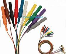10pcs/Lot Brain function Cup Electrode Sensor 59inch EEG Electrode Sensor Cable