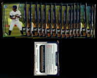 17 Lot- 2015 Bowman Chrome Trent Clark Grisham Rookie Asia Black Refractor #34