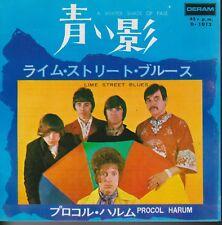Procol Harum A Whiter Shade Of Pale / Lime Street Blues Japan 45 W/PS 400 Yen