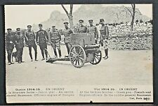 01-MILITARY WWI-FRANCE -Guerre 1914-15 In Oriente, At the Serbian frontier-Greek