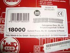 LGB G Scale 18000 Curved Track R5