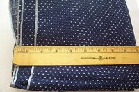 Vtg 40's Cotton Tufted Dotted Swiss Fabric for ANTIQUE DOLL DRESS 1 yard