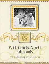 Cross Stitch Kit ~ Dimensions Elegant Flourish Wedding Record #70-35342