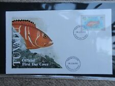 first day covers stamps 1981 TUVALU collection FDC