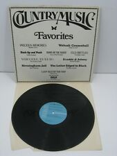 VINYL RECORD ALBUM LP COUNTRY MUSIC FAVORITES RCA SPECIAL PRODUCTS DPL 1 0130