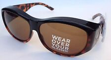 Croft & Barrow Sunglasses Wear Over Your Glasses Fit your Rx Glasses 100%UV NEW