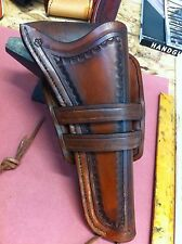WESTERN HOLSTER FOR SMITH & WESSON SCHOFIELD CUSTOM HAND TOOLED COWBOY ACTION