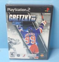 2006 Gretzky NHL 06  PS2 BRAND NEW FACTORY SEALED
