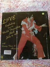 Elvis Presley RARE Tribute LP signed.