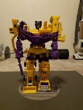 Vintage G2 Transformers - Devastator - Near Complete. Still stands and displays