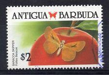 ANTIGUA & BARBUDA = 1988 Caribbean Butterflies, $2. SG 1241. Fine Used.