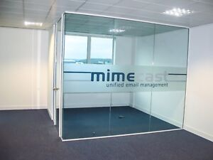 Glass Partition Services Fully Installed