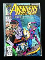 AVENGERS SPOTLIGHT #30 MARVEL COMICS 1990 NM+