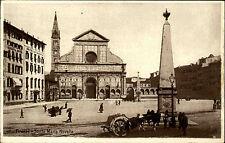 Florenz Firenze Italien Italy Toskana ~1920/30 Santa Maria Novella Kirche Church