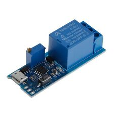 5V -30V Delay Relay Timer Module Trigger Switch Micro USB Power Tool