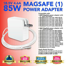 "85W AC Adapter Power Supply Charger for MacBook Pro 15"" 17"" A1286 A1343 A1172 US"