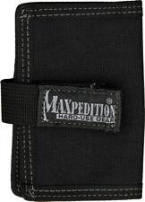 "Maxpedition Urban Wallet Black 0217B Max Capacity: 4.5"" x 3"" x 0.75"" thick. Desi"