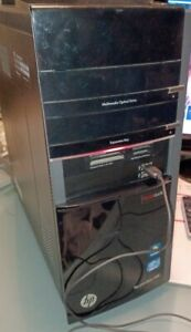 hp Pavilion HPE h8-1070T-Intel Core I7-2600 CPU@3.40 GHz, 16GB RAM, 1.5TB HDD