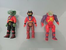 Dino Riders Lot Of 3 Evil Rulon T-Rex Warriors: Bitor! Cobrus! Krulos! Tyco Toys