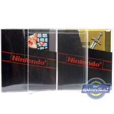 1 x Protector Box for NES Game Cartridge Cart STRONG 0.4mm Plastic Display Case