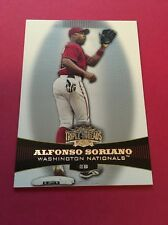 Alfonso Soriano Nationals 2006 Topps Triple Threads #43