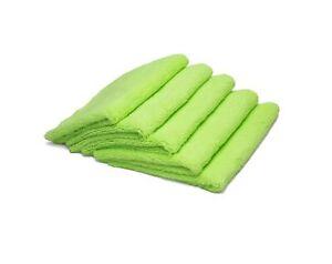 AUTOFIBER Zeroedge Detailing Towel (Pack of 5) Edgeless Microfiber Polishing,...