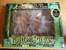 2004 TOY BIZ--THE LORD OF THE RINGS--BEARERS OF THE ONE RING GIFT PACK (