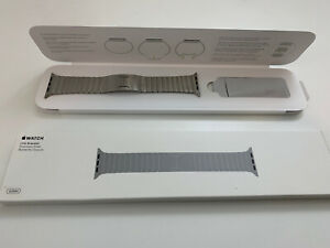 42mm Apple Watch Link Bracelet Stainless Steel Band - Purchased From Apple