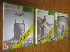 Batman Arkham Origins & City & Asylum PROMO Collection – Xbox 360 ~ NEW & SEALED