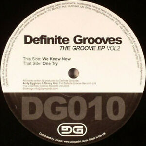 ID5628z-Definite Grooves-The Groove EP Vol 2-vinyl 12-New