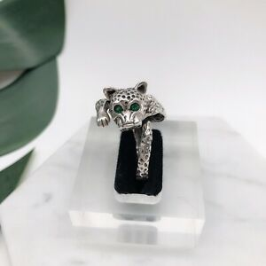 Leopard Ring Mexican Handmade Sterling Silver Ring