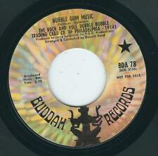 Garage Rock & Roll Dubble Bubble BUDDAH 78 Gum Music / On a summer night ♫
