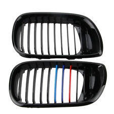 1 Pair Front Kidney Grilles for E46 3Series 4D Facelift Saloon Touring 02-05