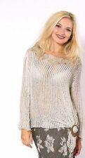 Linen 3/4 Sleeve Hand-wash Only Tops for Women