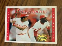 2001 Sunoco Coke Dream Team #3 Tony Perez Joe Morgan Cincinnati Reds NrMt