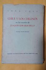 Chile y los Chilenos en las novelas de Joaquin Edwards Bello - Edna Coll - 1965