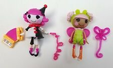 Mini LalaLoopsy Doll Set Sillly Fun House Charlotte and Blossom, Pack of 2