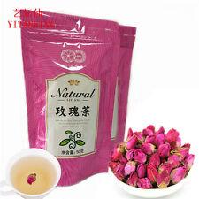 Organic 50g Rosebud Rose Buds Flower Premium Chinese Loose Tea good taste