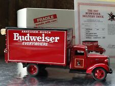 Danbury Mint 1937 Budweiser Delivery Truck Chevy 1 1/2 Ton 1:24 Scale Diecast