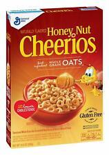 Cheerios Honey Nut Breakfast Cereal with Oats Gluten Free 10.8 oz