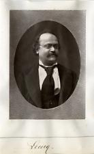 Compositeur, Lecocq Vintage print Photoglyptie  8x12  Circa 1880  <div sty
